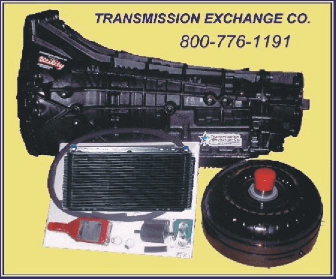 Extreme duty e4od 4r100 5r110w transmission package